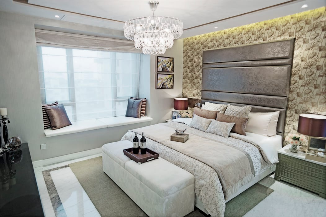 Metropolitan Heights   High-End Apartment by London Modern style bedroom by homify Modern