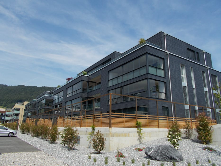 Spiegel Fassadenbau Rumah Modern