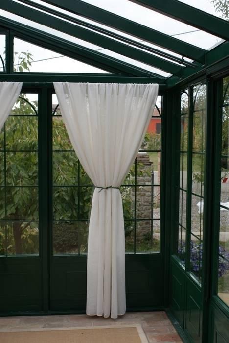 Giardino d' Inverno Cagis mod. British Style mt 5x3,5: Giardino d'inverno in stile in stile Classico di Cagis