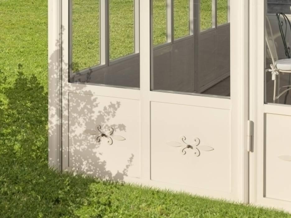 Giardino d' Inverno Cagis mod. Sala da Pranzo : Giardino d'inverno in stile in stile Classico di Cagis