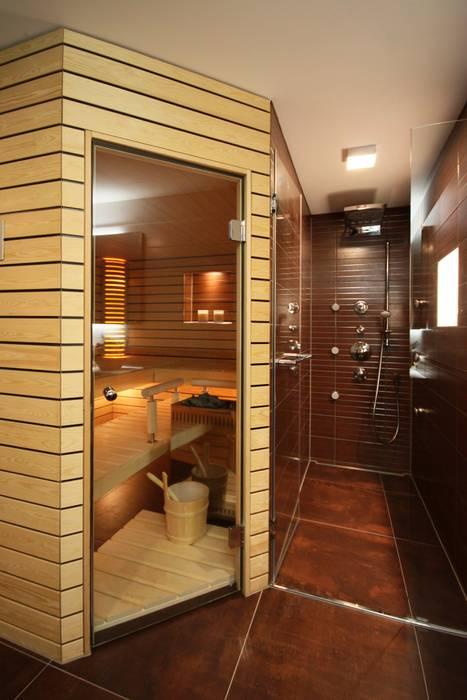 Begehbare Duschen: Landhausstil Badezimmer Von Bauarena
