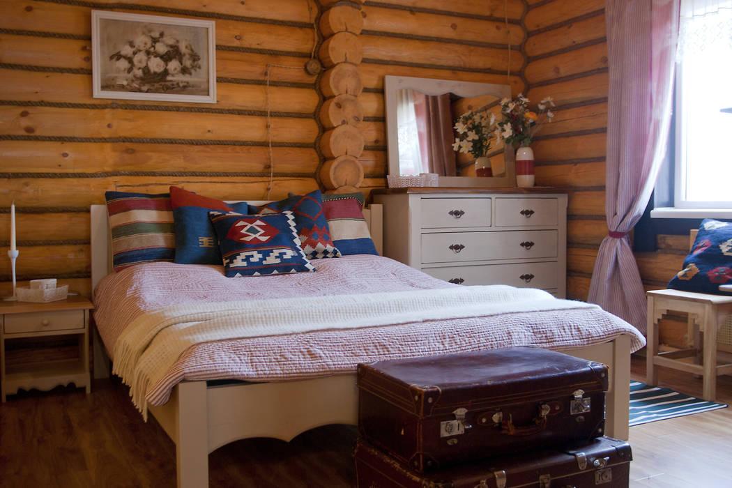 Shachebol House Dormitorios de estilo rústico de Alena Kazimirava Rústico