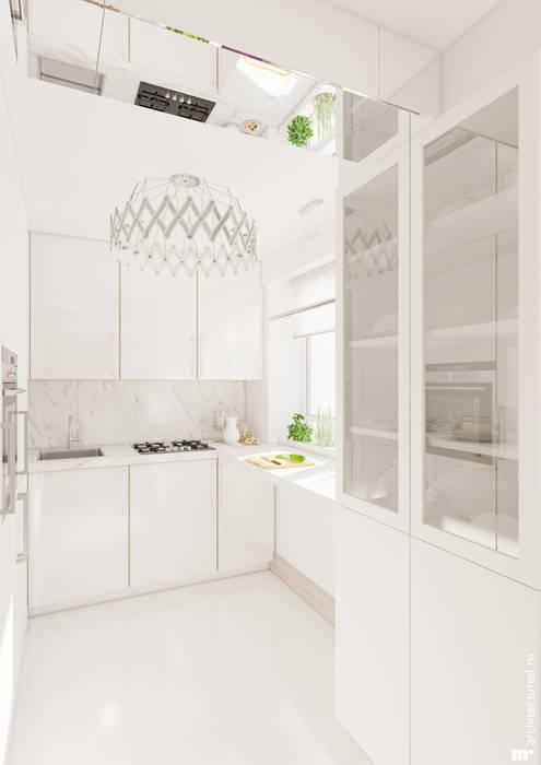 Кухня: Кухни в . Автор – Architectured - мастерская Маргариты Рассказовой