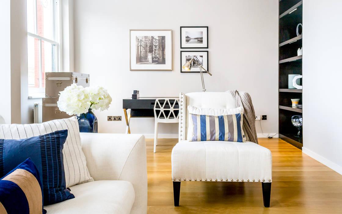 Living / Study area Livings de estilo minimalista de In:Style Direct Minimalista