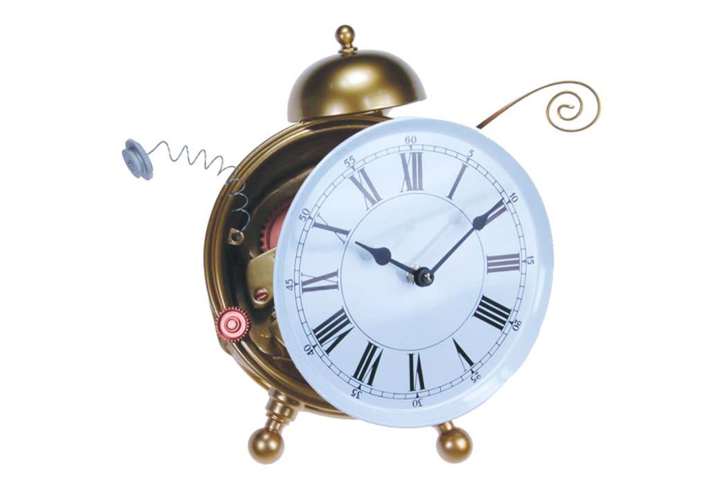 Vago Minds Ltd. – Dağılmış Duvar Saati / Breaking Clock: modern tarz , Modern