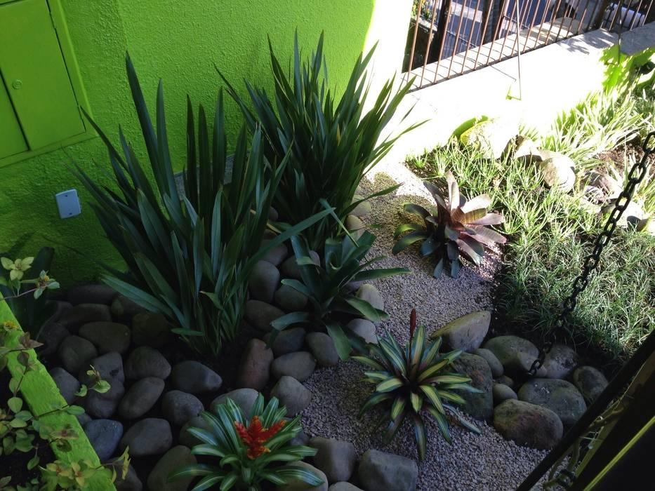 庭院 by Casa Nova Paisagismo, 田園風