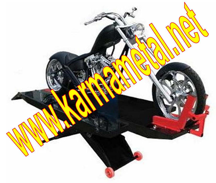 KARMA METAL-Motosiklet Parkı Demiri İmalatı Parkları Ölçüleri Endüstriyel Garaj / Hangar KARMA METAL Endüstriyel