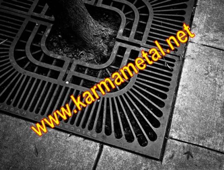 KARMA METAL - Ağaç Altı Dibi Izgarası Endüstriyel Kış Bahçesi KARMA METAL Endüstriyel