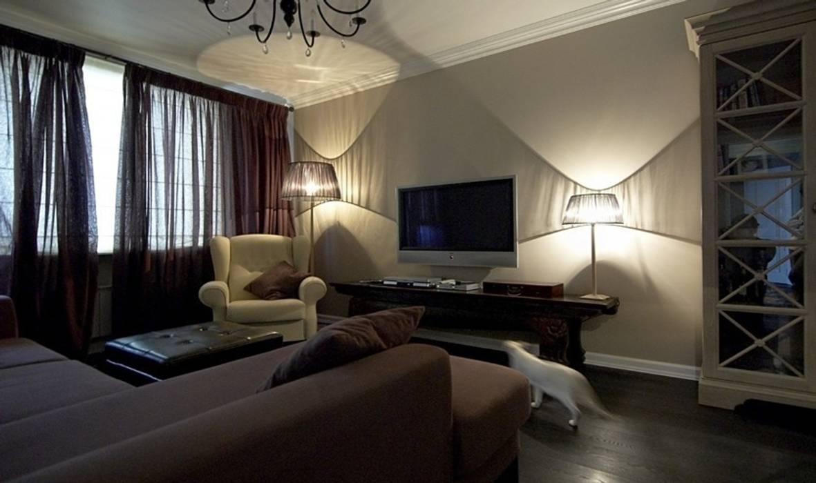 Квартира в самом центре Москвы Irina Tatarnikova ГостинаяДиваны и кресла