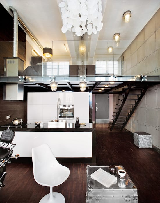 Кухни в . Автор – justyna smolec architektura & design, Модерн