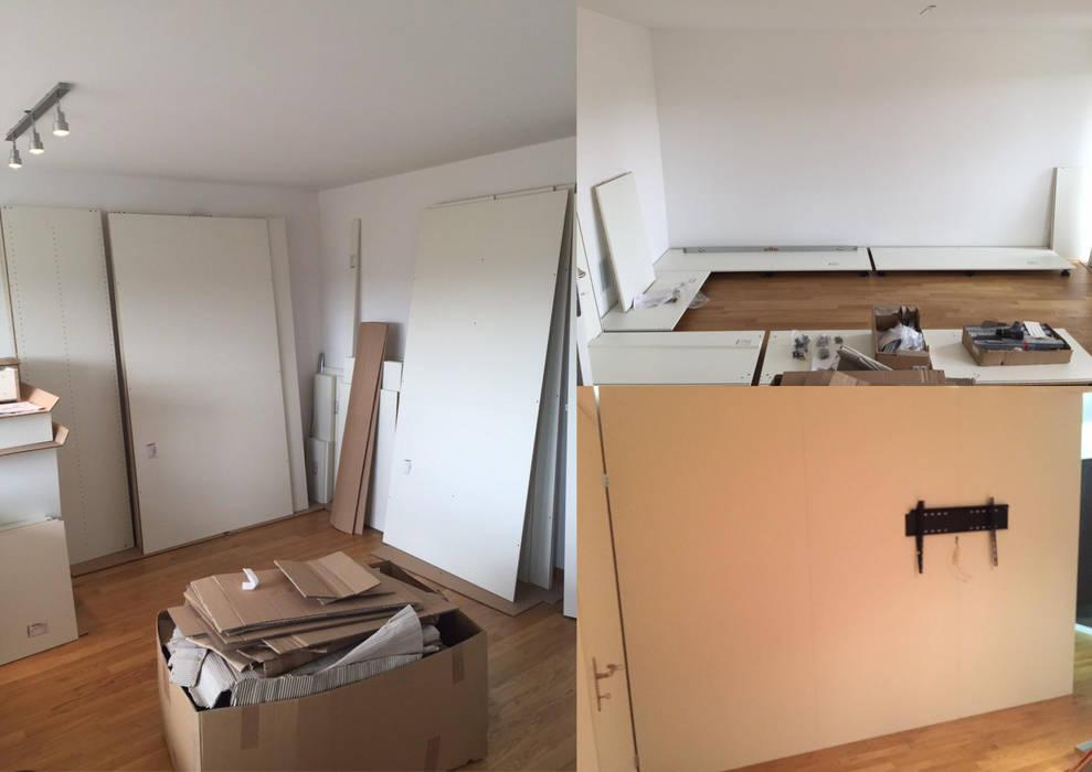 Begehbarer Kleiderschrank Als Raumteiler In Niederlenz Bei Zurich