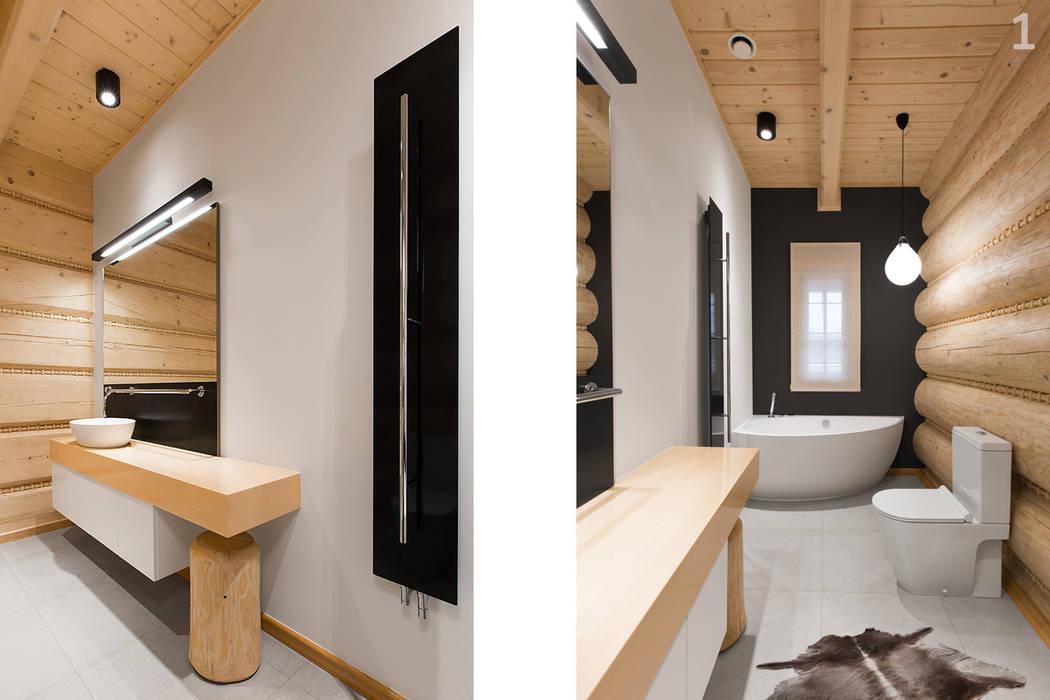 logs+3: styl , w kategorii Łazienka zaprojektowany przez unikat:lab