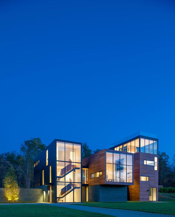 4 Springs Lane Modern houses by Robert Gurney Architect Modern
