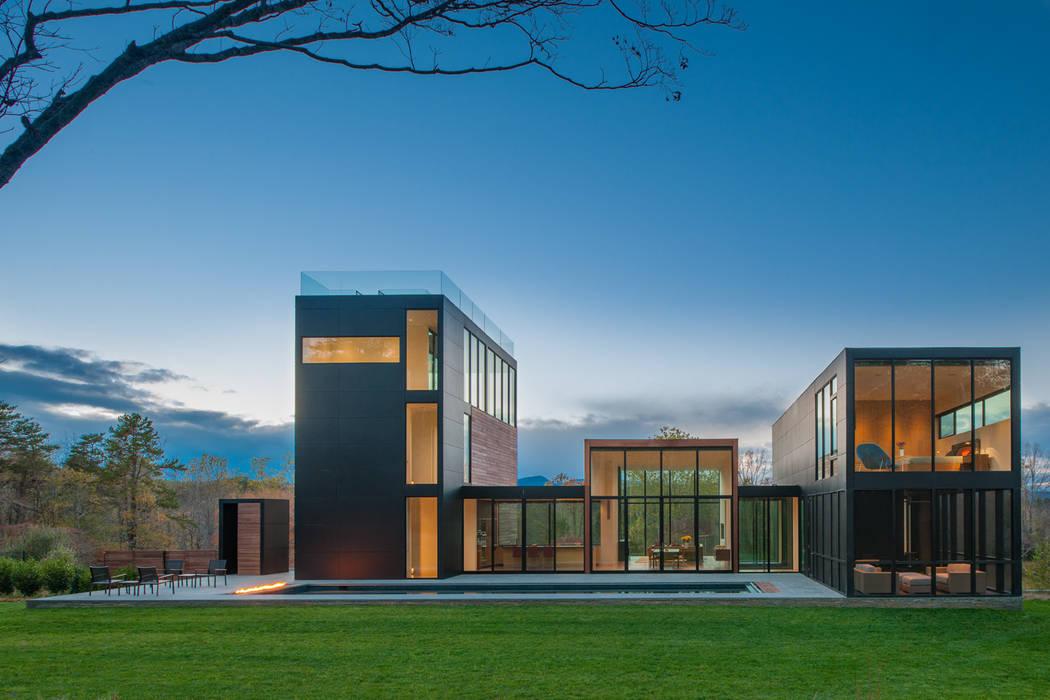 4 Springs Lane Casas modernas por Robert Gurney Architect Moderno