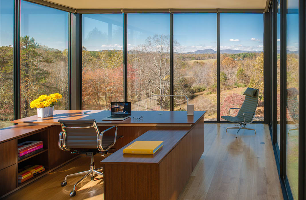 4 Springs Lane Modern Study Room and Home Office by Robert Gurney Architect Modern