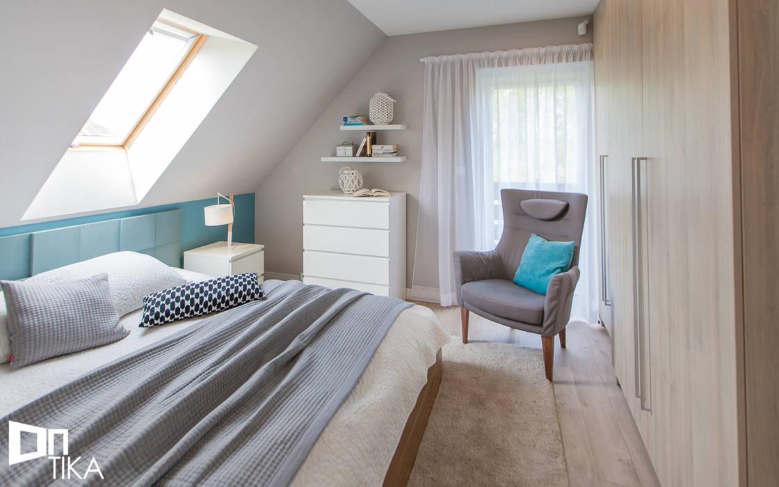 Moderne Schlafzimmer von TIKA DESIGN Modern