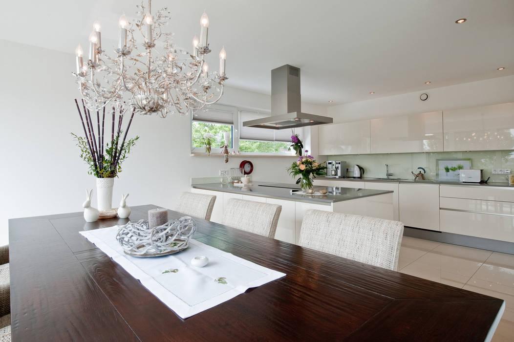 Ess- und Küchenbereich Moderne Esszimmer von Architektur Jansen Modern