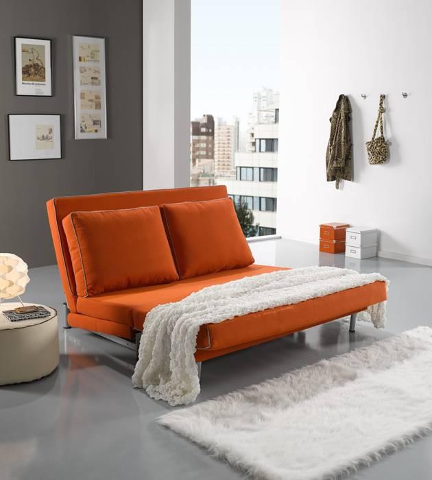 Sofá cama abatible y deslizante de Dekape Moderno