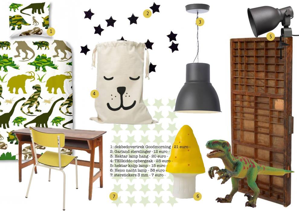 Lamp Kinderkamer Design : Детские комнаты в автор u kinderkamervintage homify