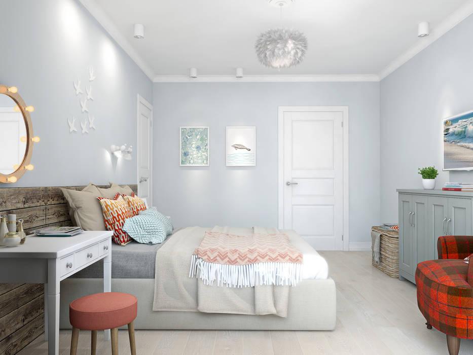 Skandinavische Schlafzimmer von Ekaterina Donde Design Skandinavisch