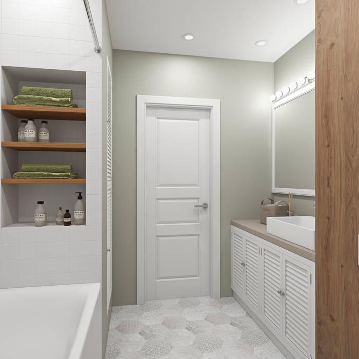 ห้องน้ำ โดย Ekaterina Donde Design,