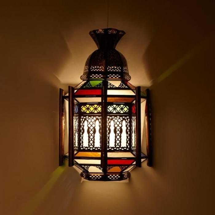 Orientalna lampa ścienna IMAD: styl , w kategorii Miejsca na imprezy zaprojektowany przez DomRustykalny.pl