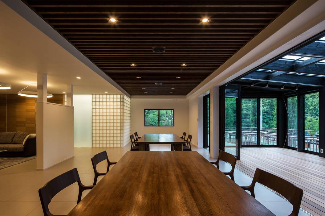 ダイニングスペース の 一級建築士事務所シンクスタジオ