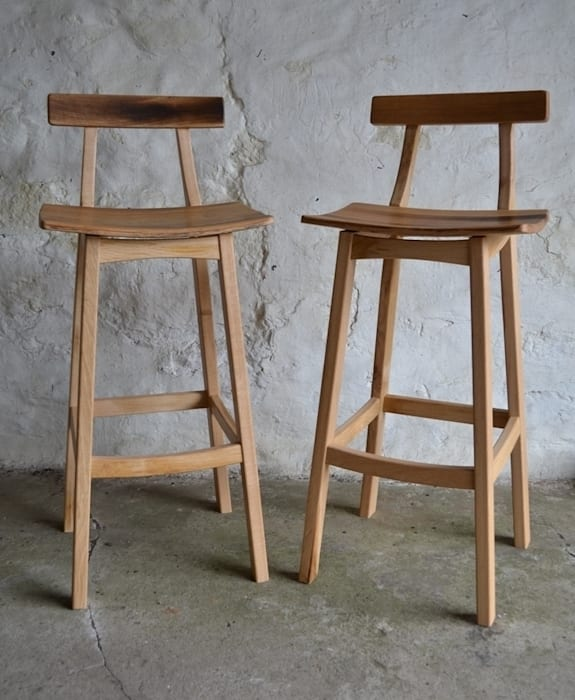 'Blend' Whisky barrel stool Clachan Wood КухняСтоли та стільці