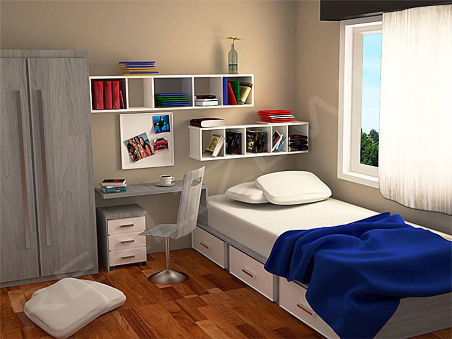 Modellazione e rendering ambienti interni – cameretta ...
