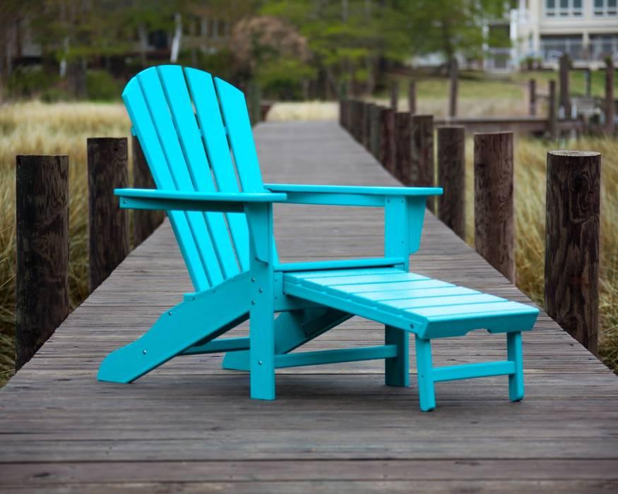 Casa bruno adirondack deckchair/ liegestuhl mit ausziehbarem ...