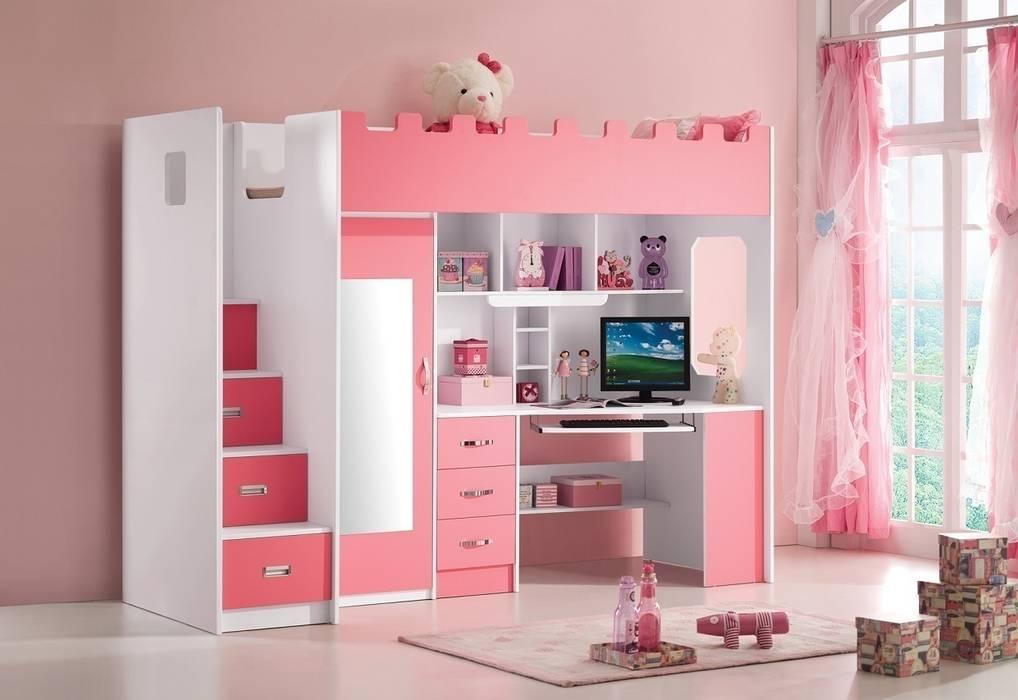 Roze Decoratie Woonkamer : Roze hoogslaper chica in de meisjes kinderkamer kinderkamer door