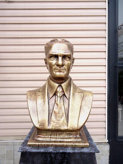 Atatürk Büstü Modern Müzeler Kentform Tasarım Sanat Atölyesi Modern