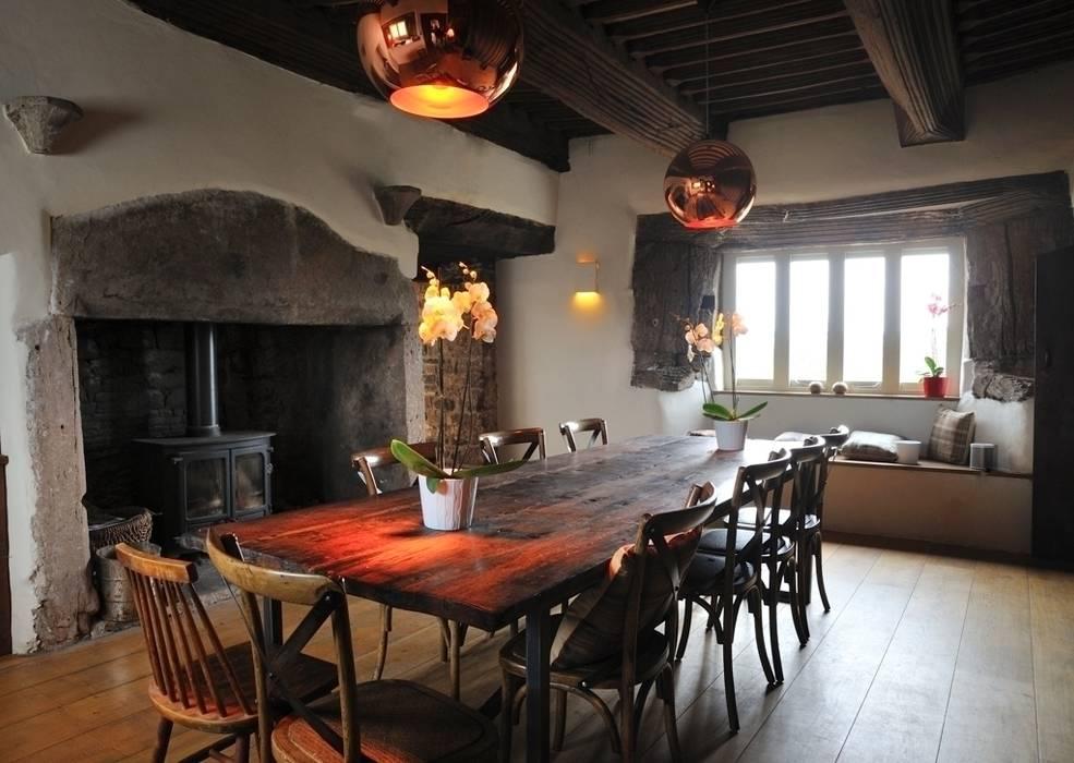 Coldbrook Farm, Monmouthshire Casas de estilo rural de Hall + Bednarczyk Architects Rural