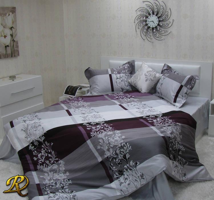 Christine Cotton Sateen Print 3d Bedding Sets Modern Bedroom By