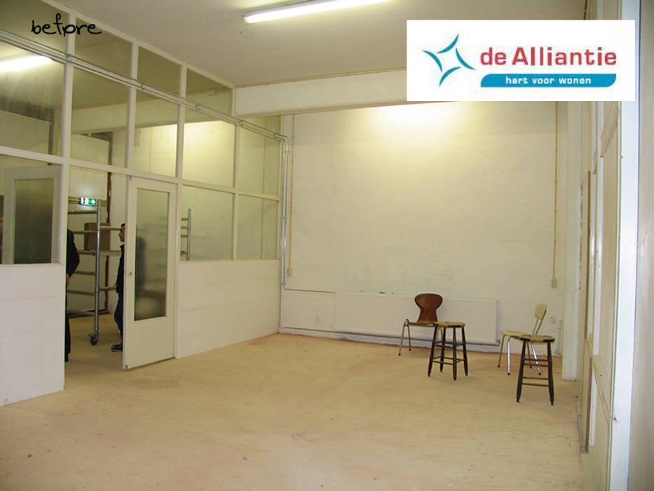 Mutipurpose rooms:  Kantoor- & winkelruimten door Levenssfeer