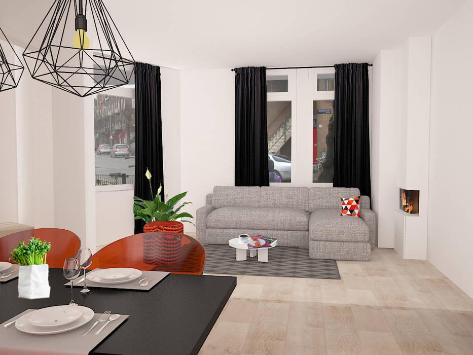 Livingroom Minimalistische woonkamers van Levenssfeer Minimalistisch