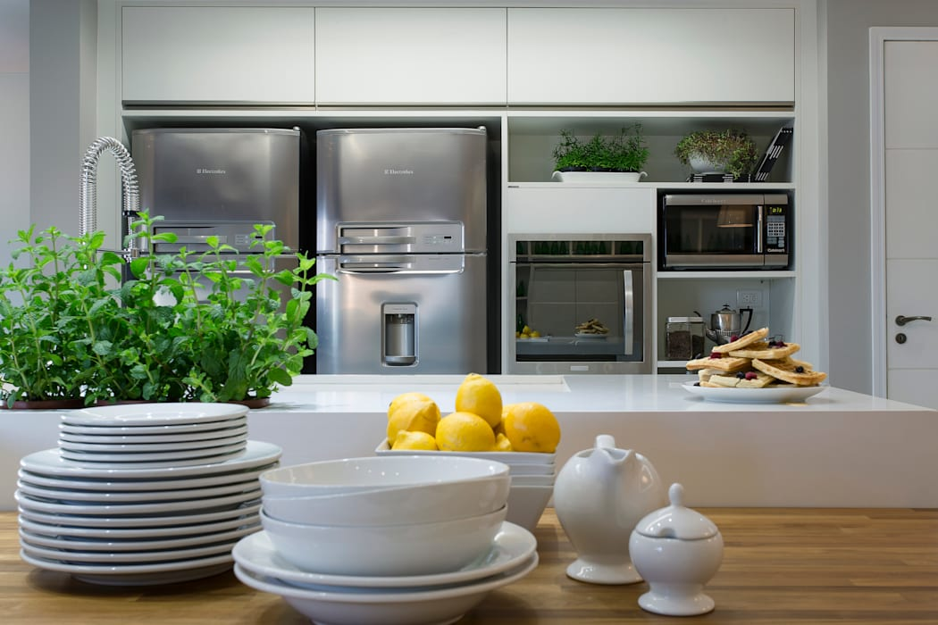 Reforma de Cozinha Kathia Gonzalez Cozinhas modernas