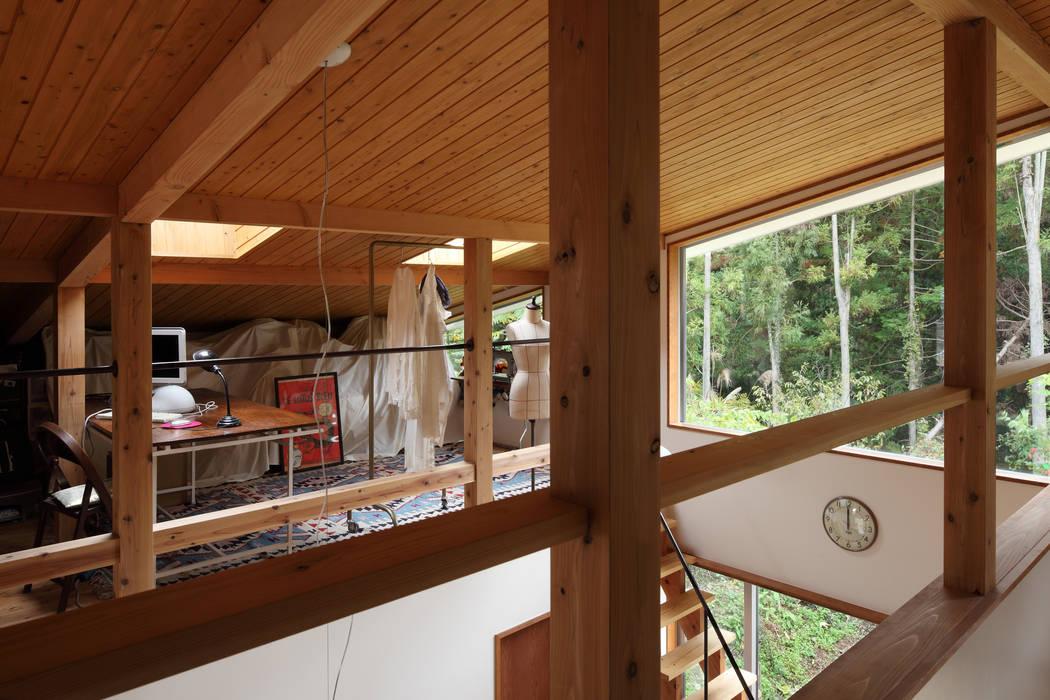 日高の家 TAMAI ATELIER モダンデザインの 多目的室