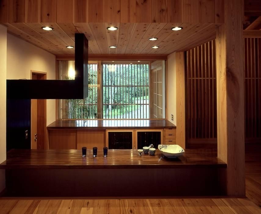 那須高原の家 クラシックデザインの キッチン の TAMAI ATELIER クラシック