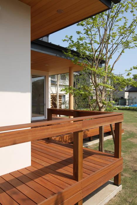 Modern Terrace by TAMAI ATELIER Modern