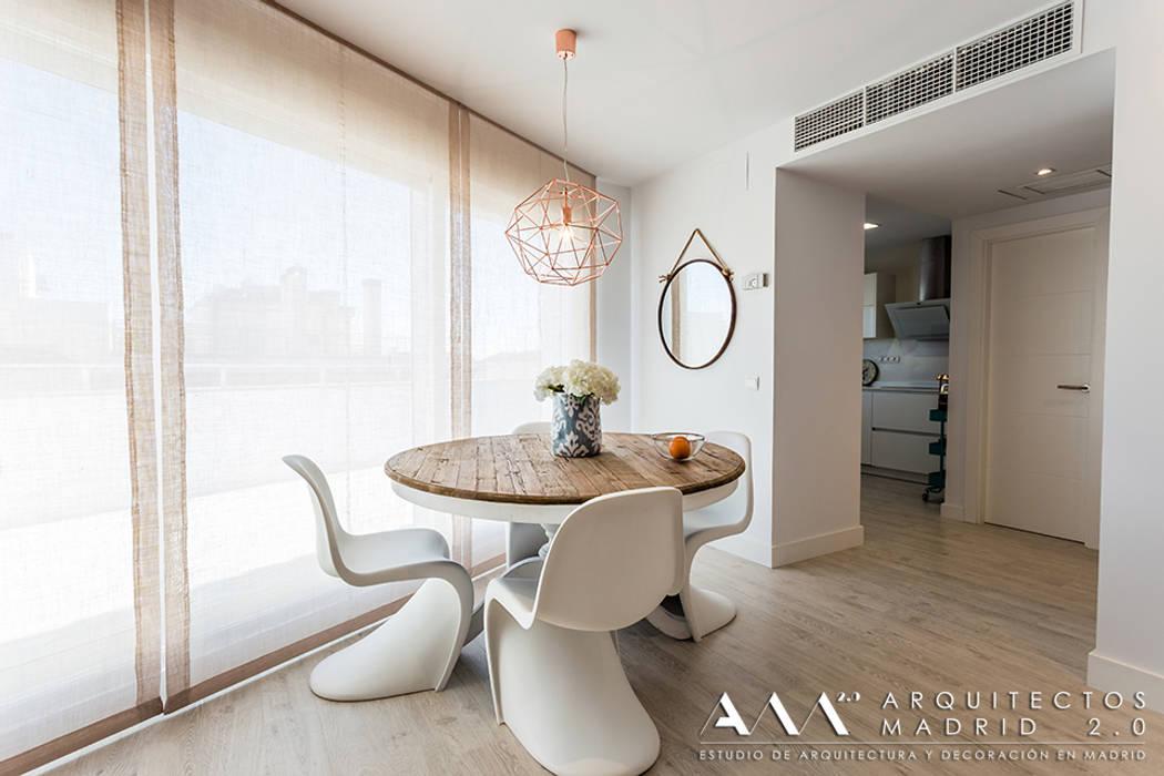 Comedor moderno minimalista: comedores de estilo de arquitectos ...