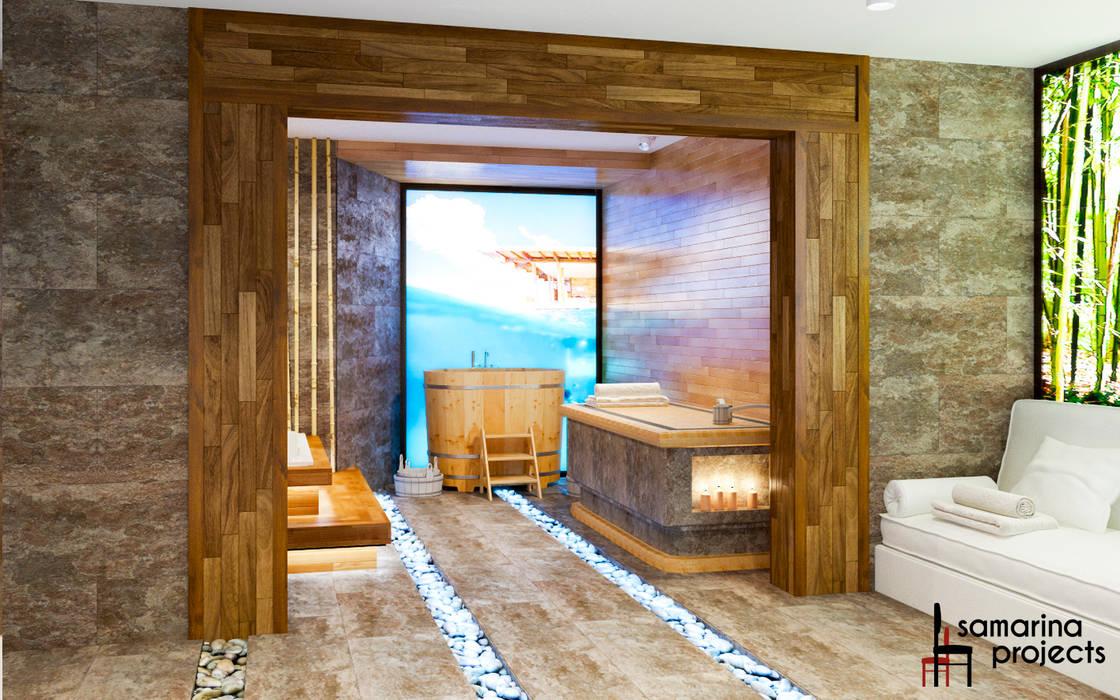 Hoteles de estilo  por Samarina projects, Rústico