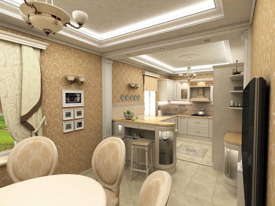 Дом Кухня в классическом стиле от Дизайн-студия Сергеевой Надежды Классический