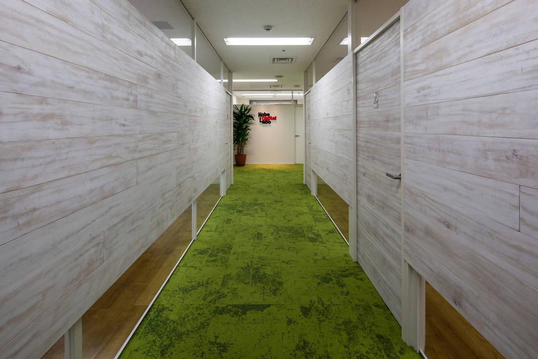 Bureau de style  par 一級建築士事務所シンクスタジオ, Moderne