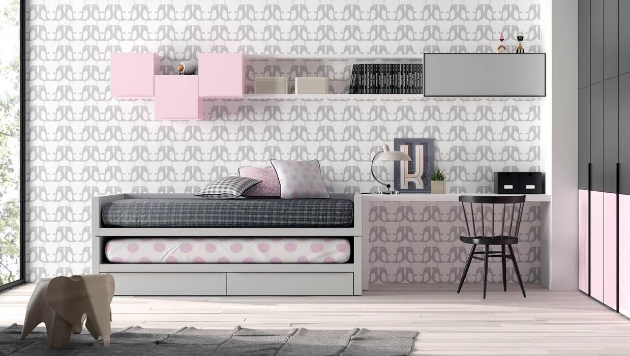 Mueble juvenil compacto de homify Moderno