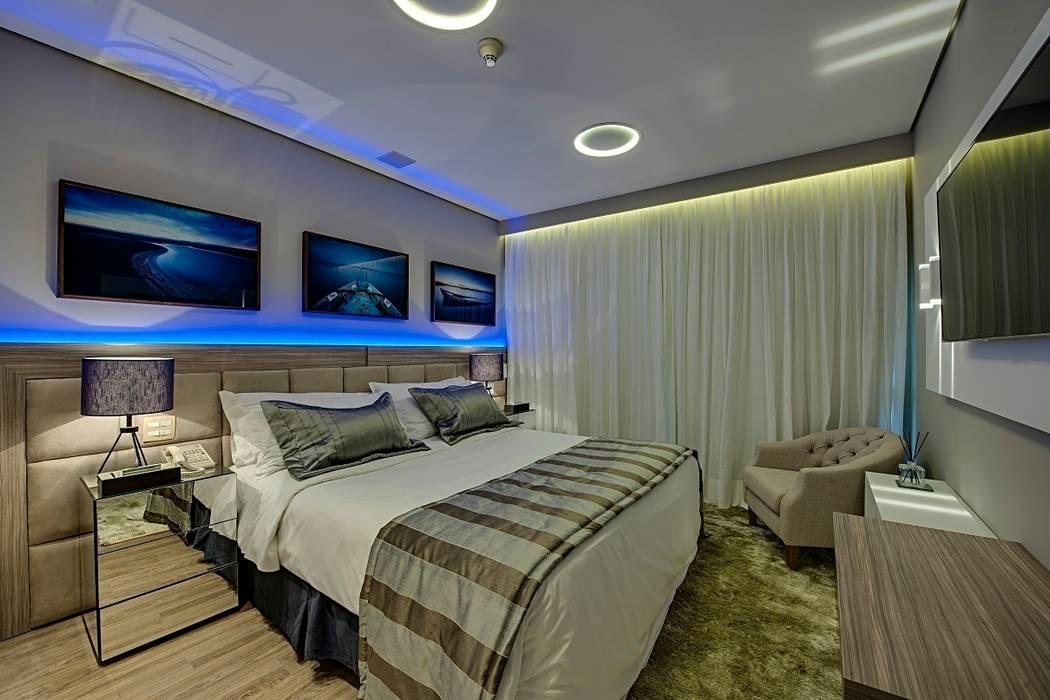 Dormitorios de estilo moderno de Guido Iluminação e Design Moderno