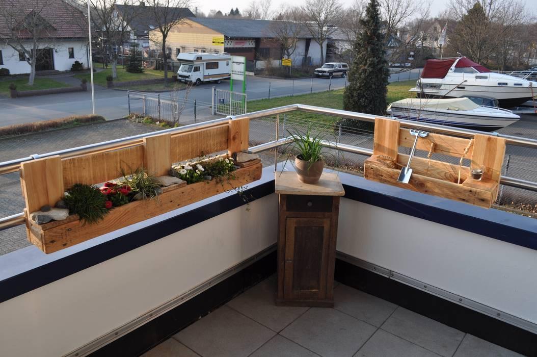 Palettenmöbel Set City Garden Balkon Veranda Terrasse Von