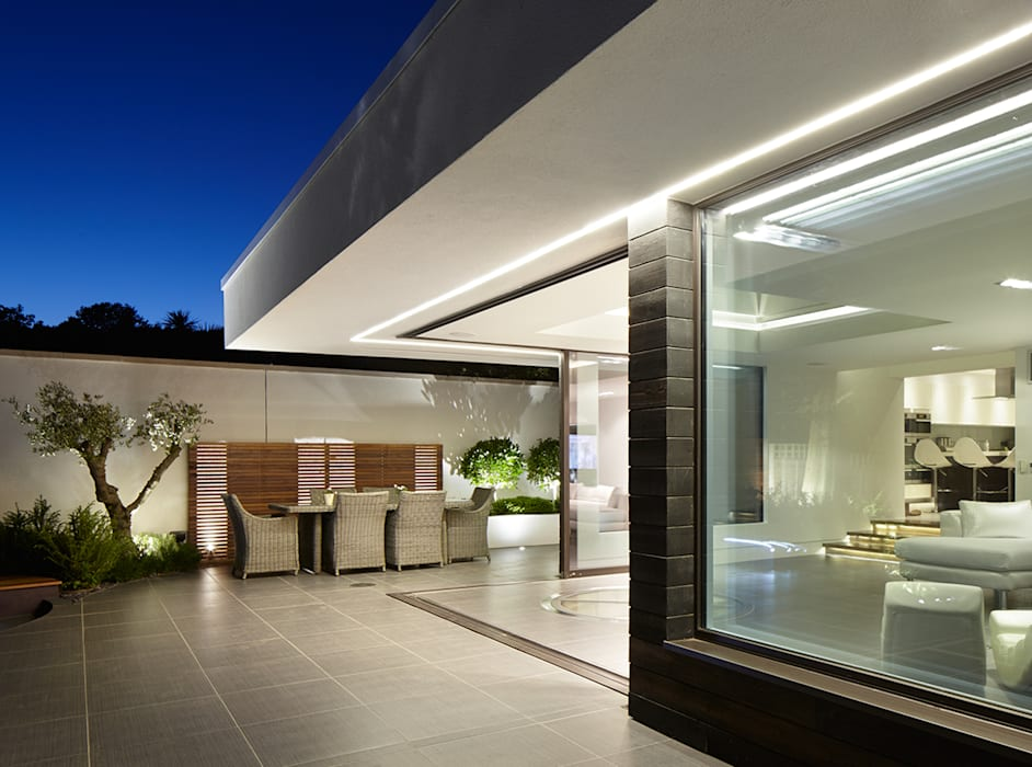 Forest View Balcones y terrazas de estilo moderno de Clear Architects Moderno