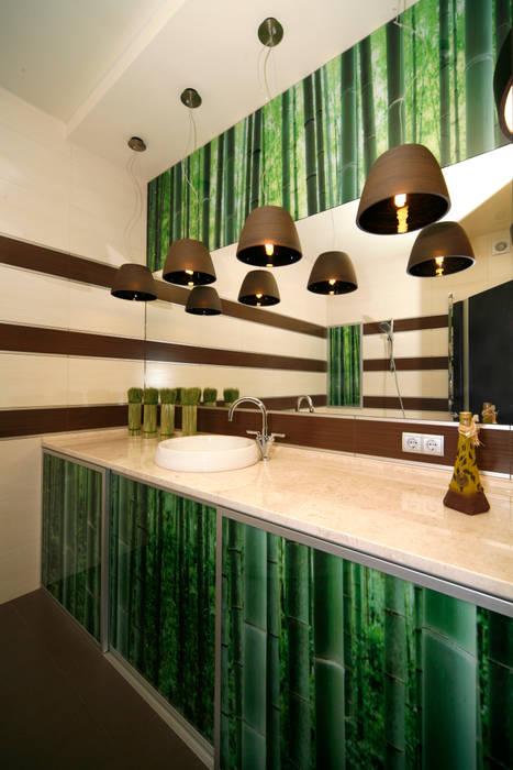 """Дизайн квартиры """"Домашний уют"""": Ванные комнаты в . Автор – Samarina projects"""