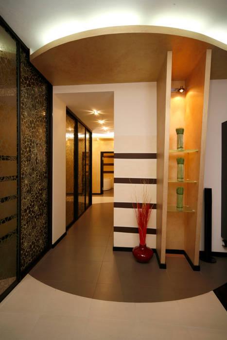 """Дизайн квартиры """"Домашний уют"""": Коридор и прихожая в . Автор – Samarina projects"""